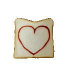 食パンにケチャップでお絵かき(個別スタンプ:13)