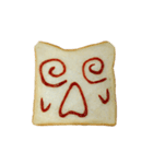 食パンにケチャップでお絵かき(個別スタンプ:14)