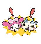 妖怪ウォッチ×サンリオキャラクターズ(個別スタンプ:04)