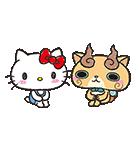 妖怪ウォッチ×サンリオキャラクターズ(個別スタンプ:34)