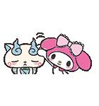 妖怪ウォッチ×サンリオキャラクターズ(個別スタンプ:35)