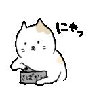 猫の日常会話と野球(個別スタンプ:23)