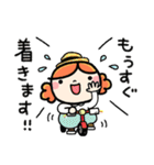 主婦ってエライ!かわいい敬語スタンプ♪(個別スタンプ:27)