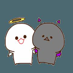 みじめちゃんと恨みちゃん 天使と悪魔