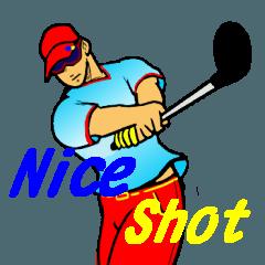 ゴルファーのためのスタンプ 4