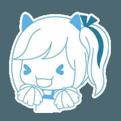 Meow Girl Side face 2