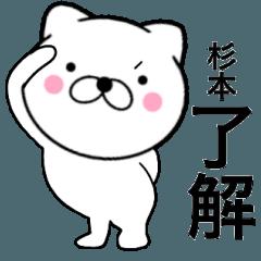 【杉本】が使う主婦が作ったデカ文字ネコ
