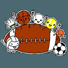 スポーツクラブ&チーム&部活応援スタンプ
