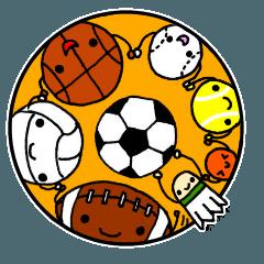 スポーツクラブチーム&部活応援スタンプ2