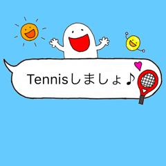 よく使うフレーズたち♡テニスver.