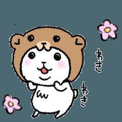 クマinくま (うご)