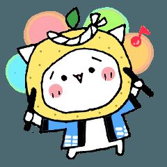 柚子ねこ5~ほんわかスタンプ~