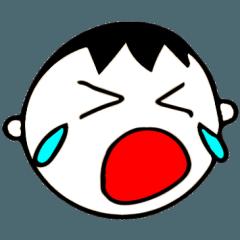 泣き虫な男の子