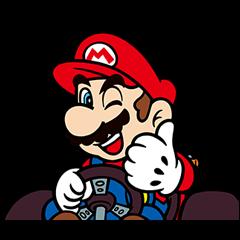 マリオカート GO!GO! スタンプ