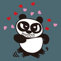 Angry Face Panda