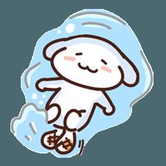 [LINEスタンプ] mochi yaki in Summer Day