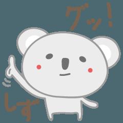 しずちゃんコアラ koala for Shizu