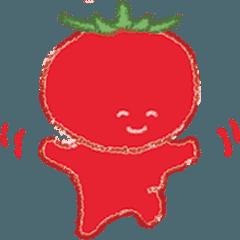 [LINEスタンプ] 農園の野菜たち