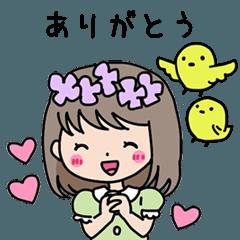 hanako,piyoko and herfriends