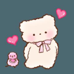 [LINEスタンプ] BABY BEARとばぶどりちゃん