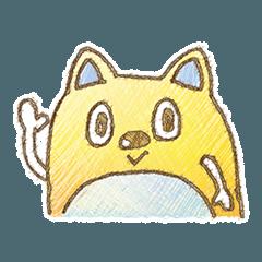 [LINEスタンプ] 猫だぬきの日常