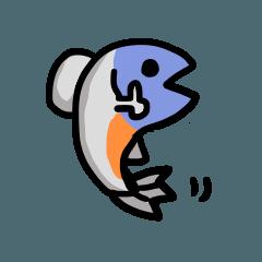 [LINEスタンプ] 鮭スタンプ1