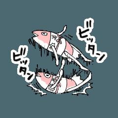[LINEスタンプ] ドジローがゆく