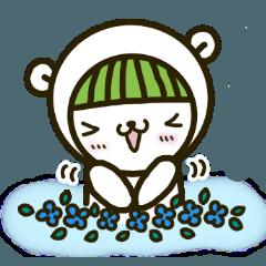 [LINEスタンプ] しろくま YUKIちゃん ー 応援スタンプ ー