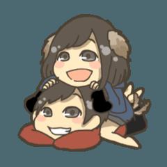 犬系っぽい夫婦