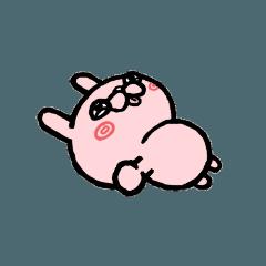 [LINEスタンプ] 甘ったれウサギ
