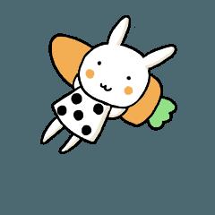 うさんぷ(うさぎすたんぷ)