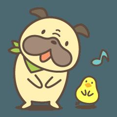 [LINEスタンプ] 犬のポンさん vol.2