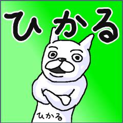 【ひかる/ヒカル】専用名前スタンプ