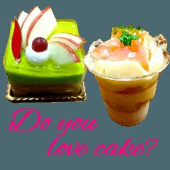 かわいいケーキスタンプ2♪