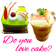 [LINEスタンプ] かわいいケーキスタンプ2♪ (1)