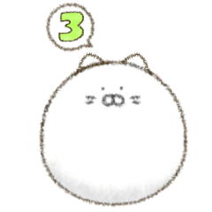 [LINEスタンプ] おねこちゃん 3