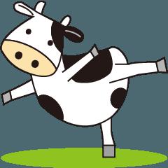 楽しい!牛のもーもーライフ
