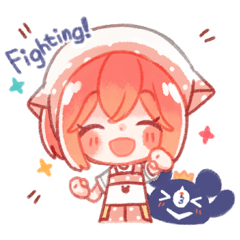 [LINEスタンプ] You're my lucky star!