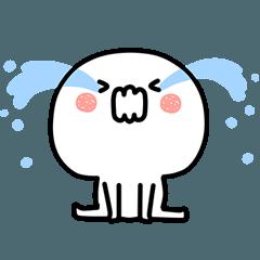 毎日使えるシンプルなプルちゃん感情編