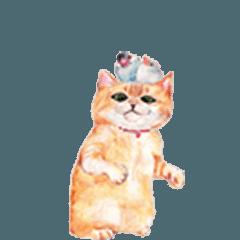 [LINEスタンプ] ゴージャスがらくたネコ!