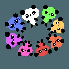 七色パンダちゃん