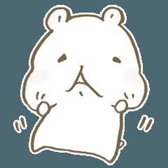 [LINEスタンプ] ハムスターのはむちゃん!