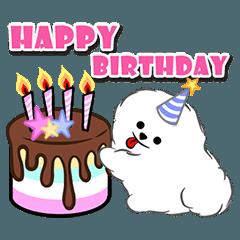 Happy Birthday Cakes : Animated
