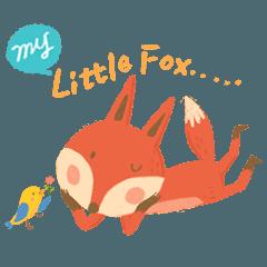 [LINEスタンプ] My Little Fox