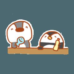 [LINEスタンプ] ペンギンのピンクルちゃんと愉快な仲間たち