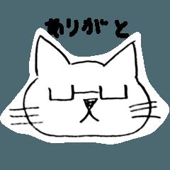 メガネなネコ