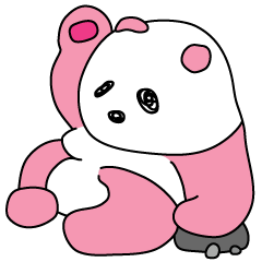 ピンク色のパンダ特集