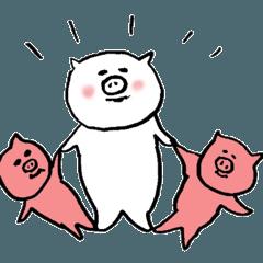 [LINEスタンプ] ぽっちゃりが好き 3