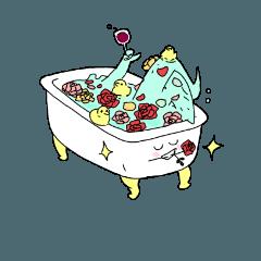 [LINEスタンプ] お湯とその友達のスタンプ