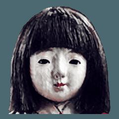 動く恐怖の人形.
